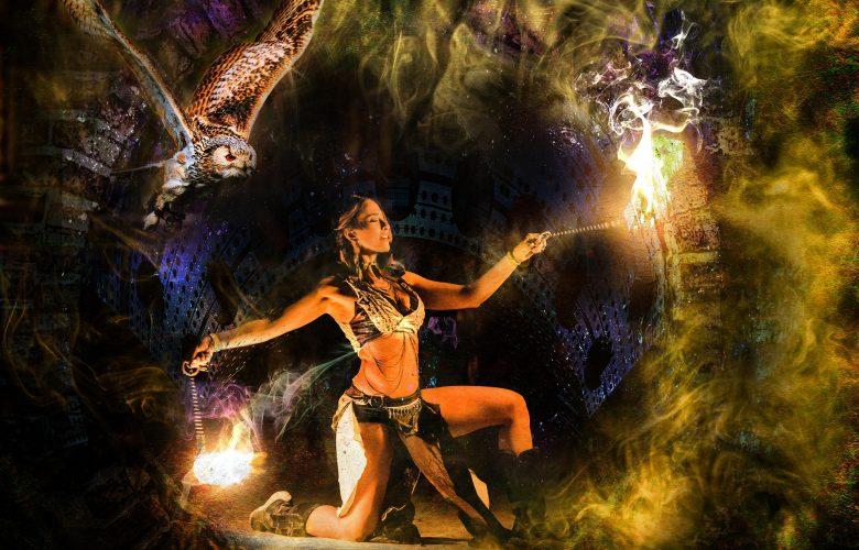 danse avec les éléments